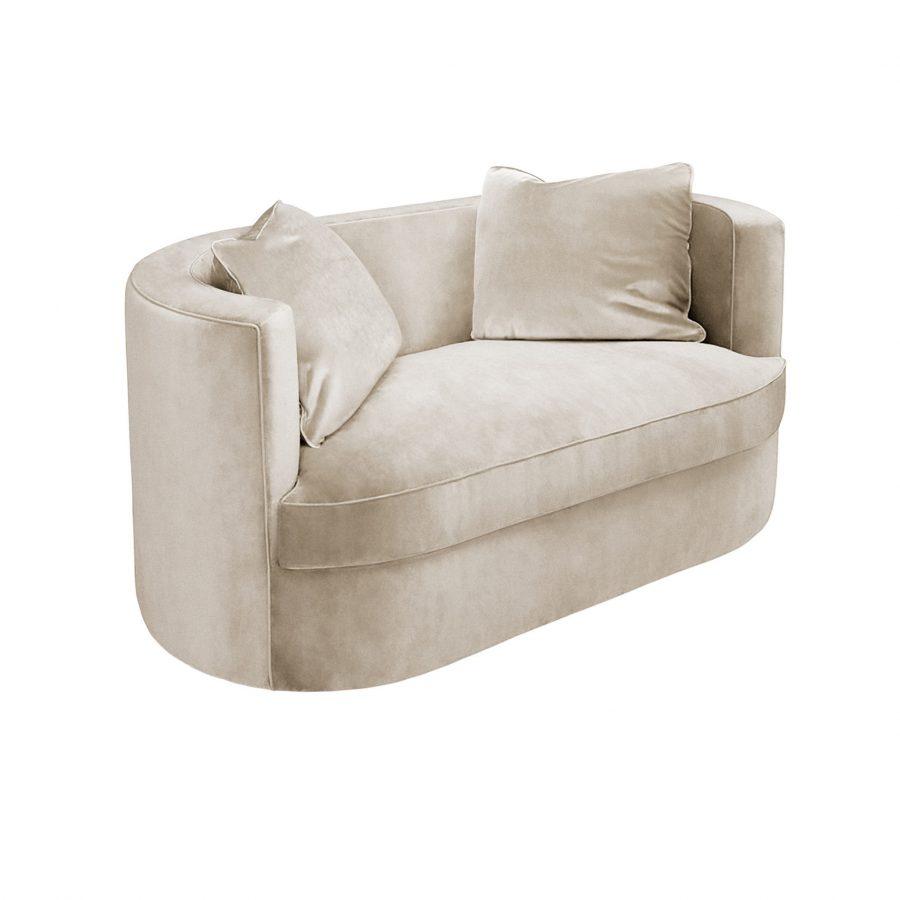 Овальный двухместный диванчик
