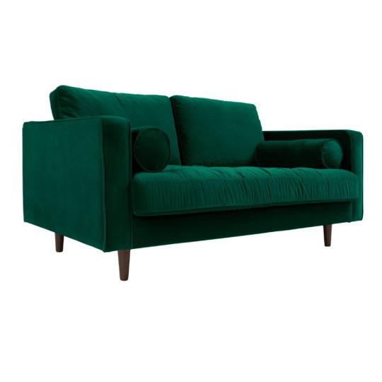 Мягкий диван в скандинавском стиле