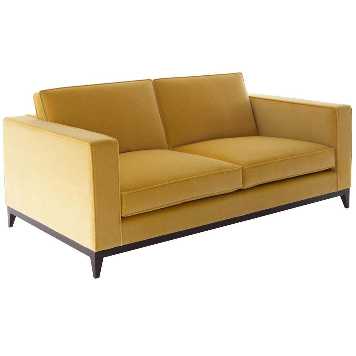 Стильный прямой диван Стив