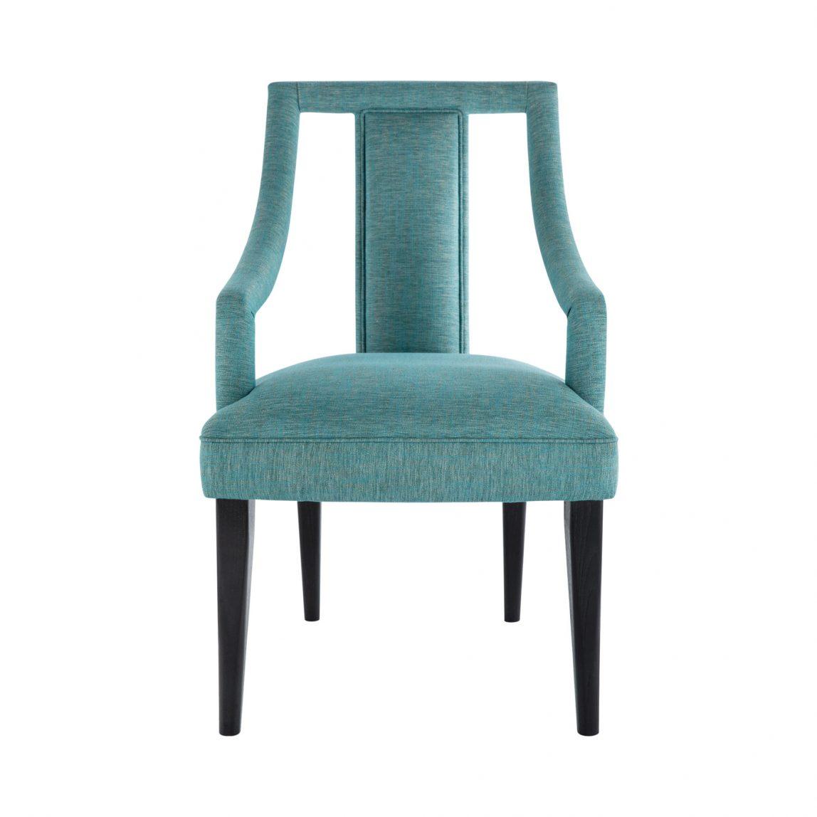 Обеденный стул Натан бирюзового цвета, реплика брабу, реплика мунна