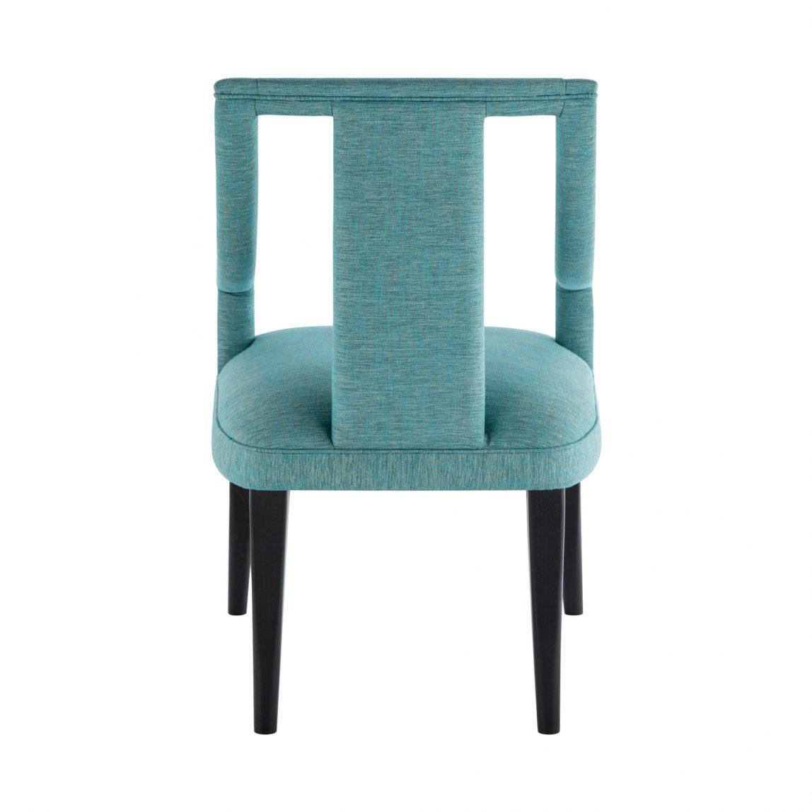 Красивая дорогая мебель, дизайнерский стул с обивкой бирюзового цвета, реплика (копия) брабу, мунна (munna).