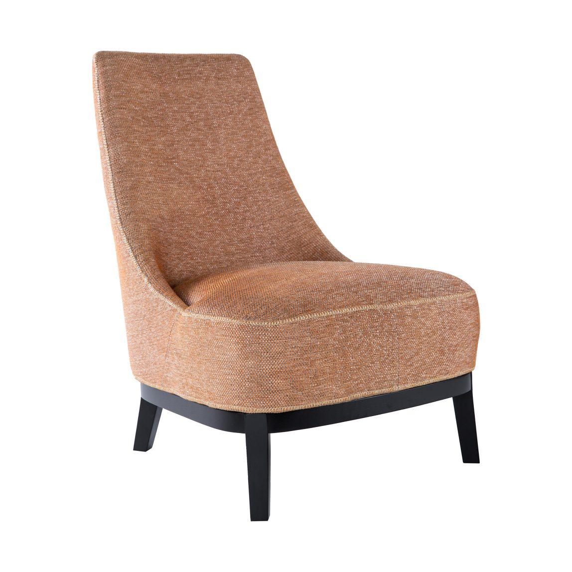 Дизайнерское кресло Макс из рогожки