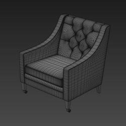 Лавсит 3d модели кресло