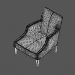 Лавсит 3Д 3d модель Мартин кресло дизайнерское скачать mhliving