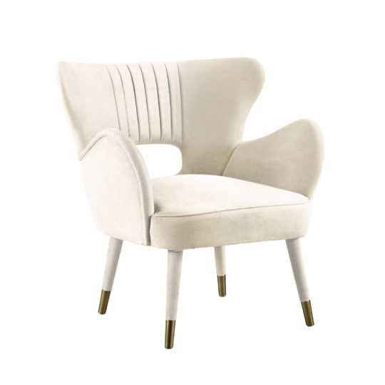 Красивая дорогая акцентная мягкая мебель для ювелирного магазина бутика, элегантное белое бархатное кресло, дизайнерское кресло из бархата, мебель белого цвета, кресло из бархата велюра, испанский дизайн, мебель в стиле ардеко, арт деко, 60х, шестидесятых, midcentury modern, мидсенчури модерн, реплика (копия), реплика фабрики Мунна (munna), купить удобное кресло, кресло для гостиной, будуарное кресло, кресло для гардеробной комнаты, кресло для спальни, кресло для прихожей, бархатное кресло, Киприан, мягкая мебель российского производства, кресло с тканевыми ножками, каминное кресло, лавсит, для детской, с латунными ножками редкое, вычурное, люкс, лакшери, на заказ