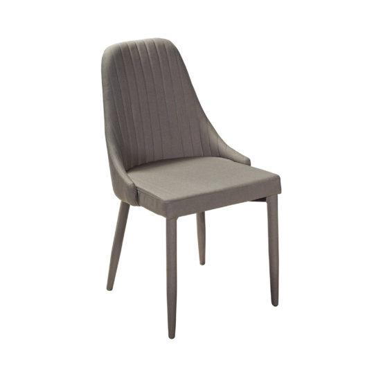 Сэм дизайнерский мягкий стул, серый купить в наличии на складе