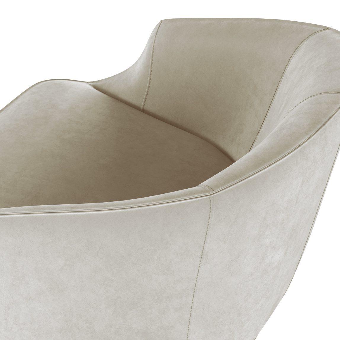 красивое современное полукруглое кресло для ресторана