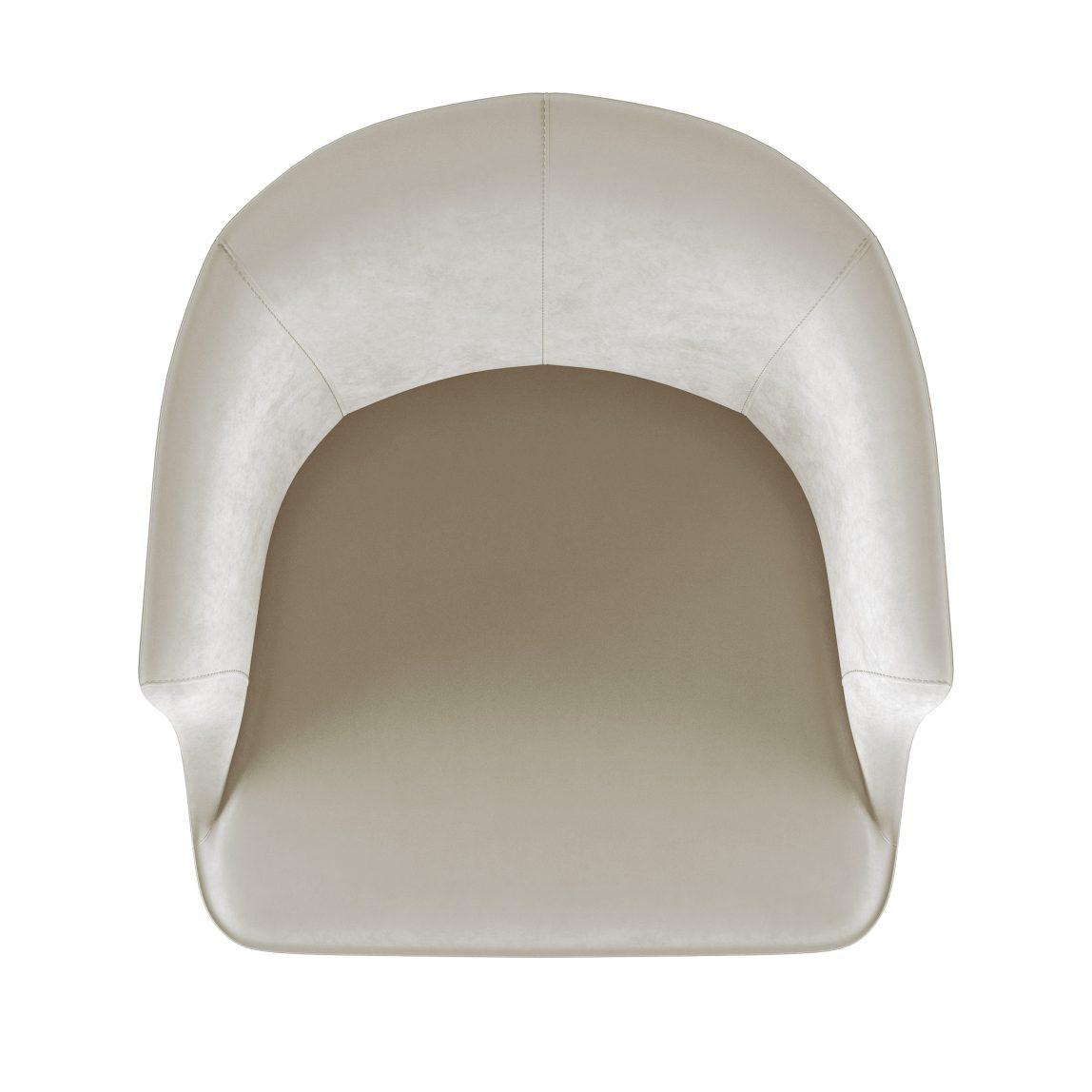мягкое невысокое дизайнерское кресло