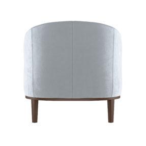 Элегантное бархатное кресло в гостиную