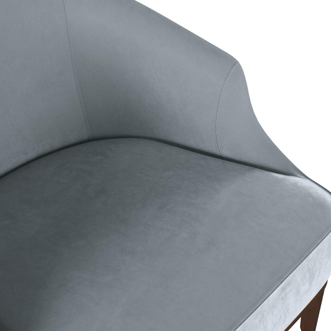 ар-деко кресло современное