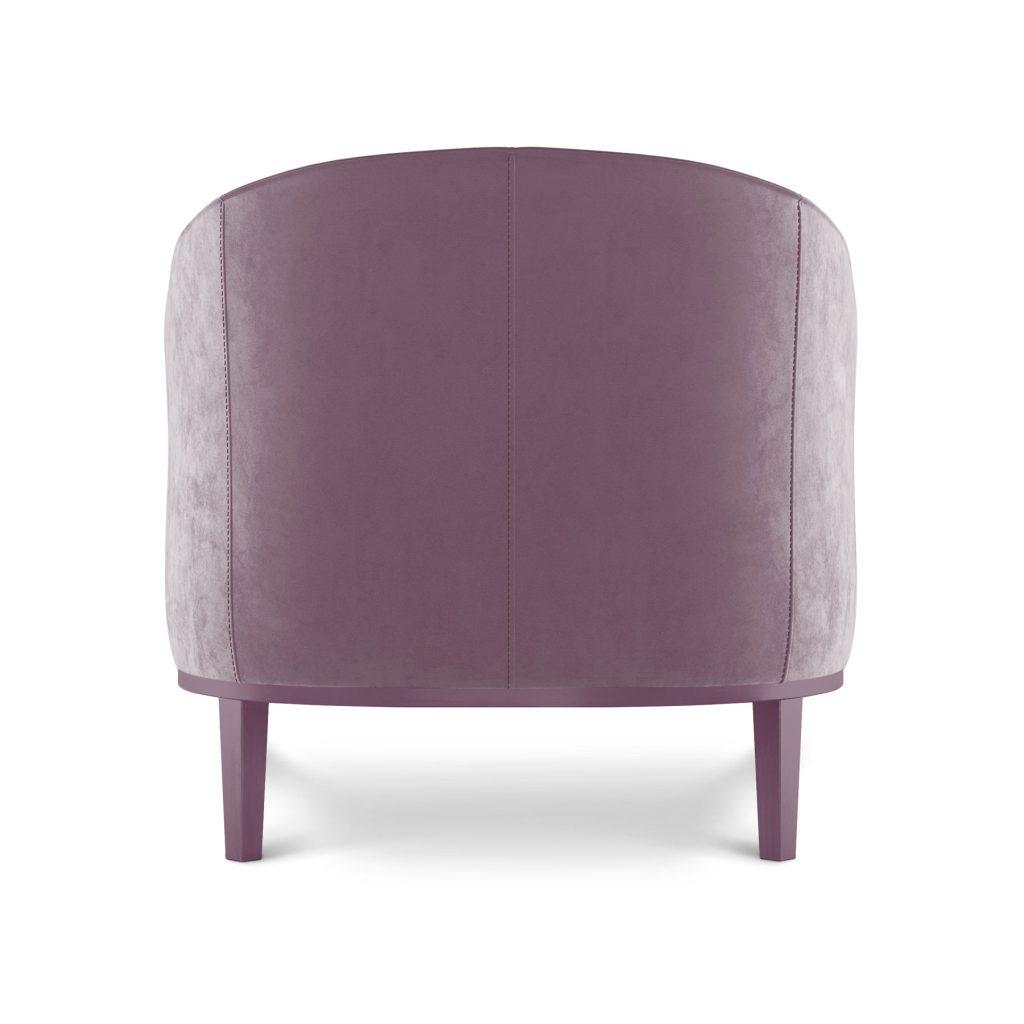 Ар-деко стильное кресло, мягкое удобное кресло для чтения