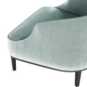 элегантное стильное кресло
