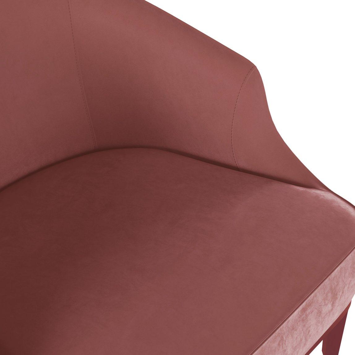 Красивая дорогая акцентная мягкая мебель для ювелирного магазина бутика, элегантное розовое красное бархатное кресло, дизайнерское кресло из бархата, мебель розового светло-розового красного цвета, кресло из бархата, итальянский дизайн, мебель в стиле ардеко, арт деко, реплика (копия), реплика фабрики Лонги Лонгхи, купить удобное кресло, кресло для гостиной, будуарное кресло, кресло для гардеробной комнаты, кресло для спальни, кресло для детской комнаты, кресло для прихожей, бархатное кресло, Стефан, мягкая мебель российского производства, кресло в современном стиле, кресло в стиле модерн, кресло с цветными ножками редкое, вычурное, люкс, лакшери, на заказ