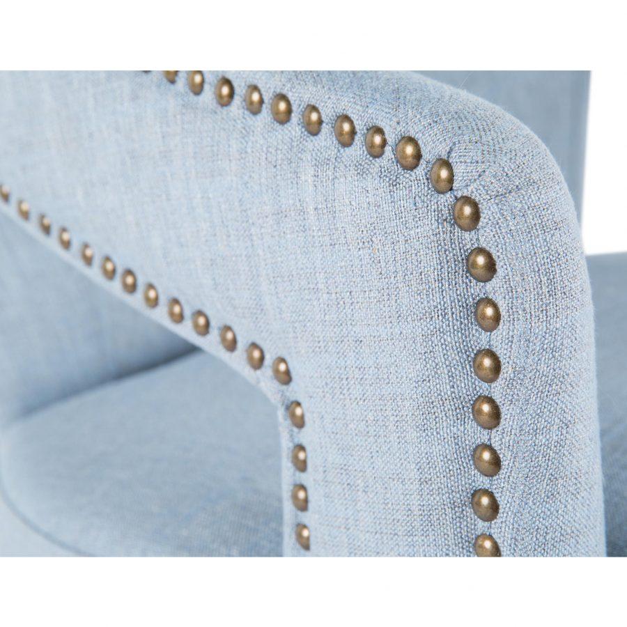 Лавсит кресло Винс, браббу brabbu, элитное дорогое роскошное голубое серое синее, велюр, копия реплика mhliving, рогожка, дизайнерское мягкое с подлокотниками,