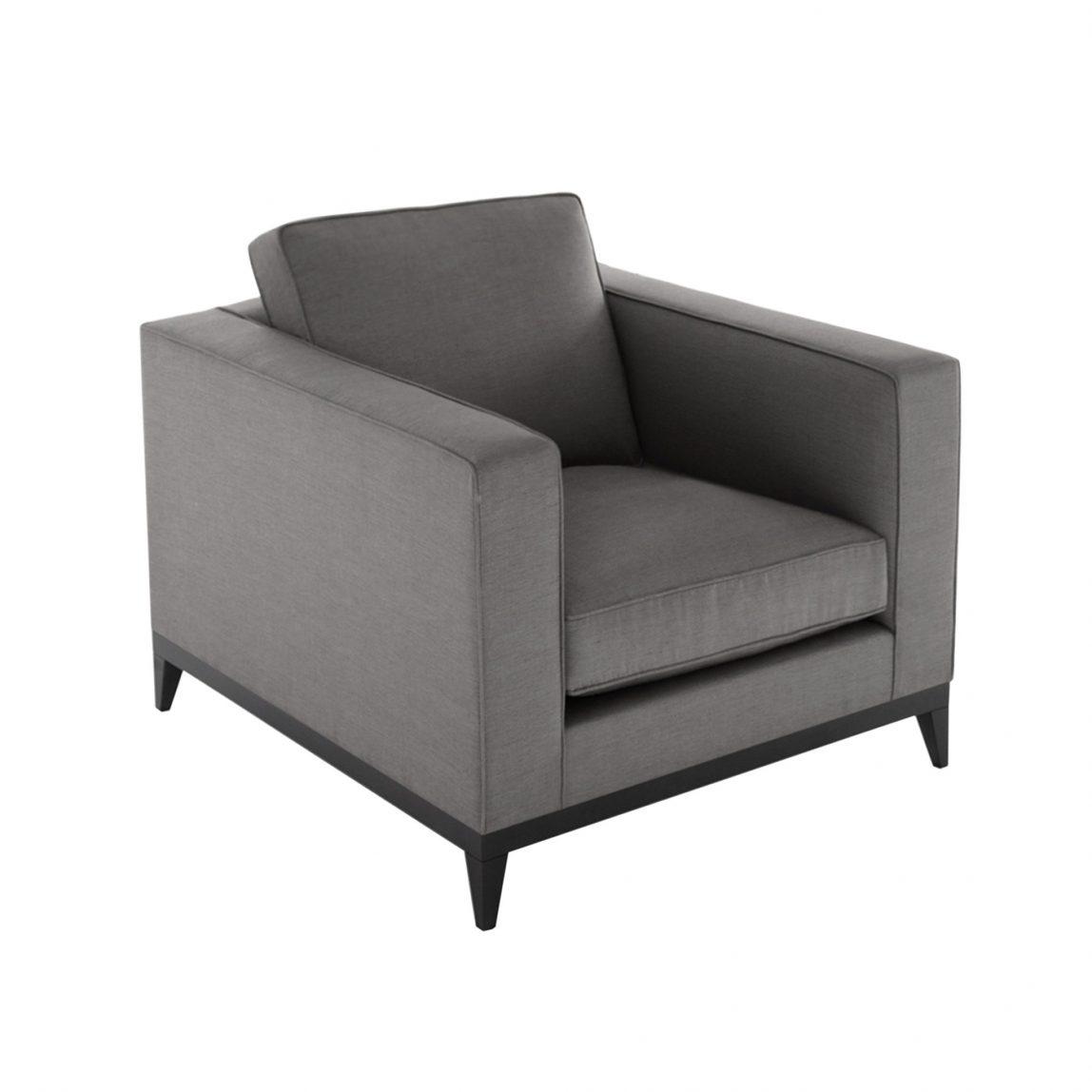 Стильное прямоугольное кресло Стив