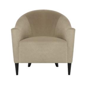 дизайнерское бархатное кресло