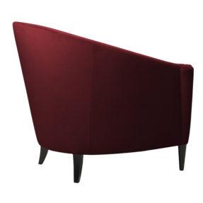 Бордовое бархатное кресло с круглой спинкой, с подлокотниками, дизайнерское кресло из бархата, кресло из бархата велюра, американский дизайн, мебель в стиле ардеко, арт деко, реплика (копия), реплика фабрики sofa chair company (софа чеир компани), купить удобное кресло, кресло для гостиной, будуарное кресло, Красивая дорогая акцентная мягкая мебель для ювелирного магазина бутика, кресло для гардеробной комнаты, кресло для спальни, кресло для прихожей, бархатное кресло, Адам, мягкая мебель российского производства, кресло на ножках, каминное кресло, лавсит. Кресло гондола. редкое, вычурное, люкс, лакшери, на заказ