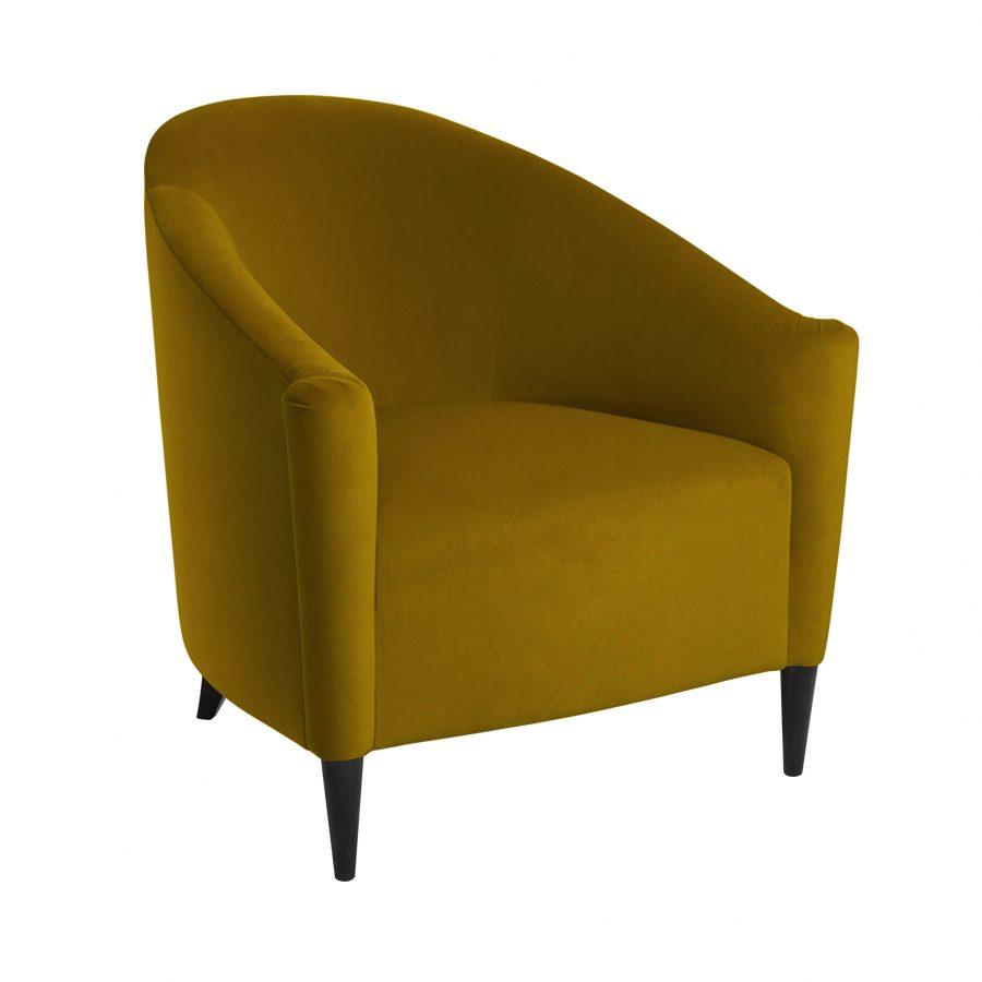 желтое кресло в гостиную