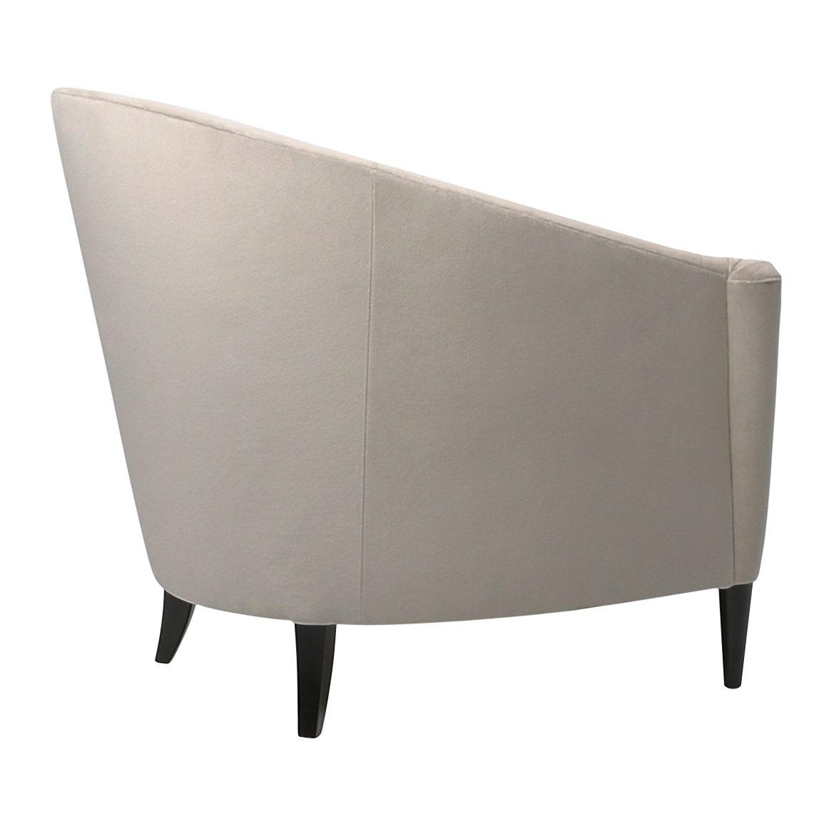 белое ар-деко кресло