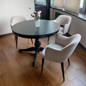кухонные стулья в велюре