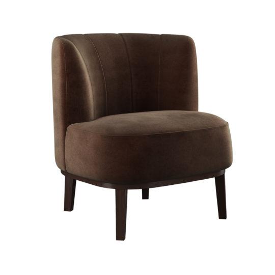 маленькое стильное кресло