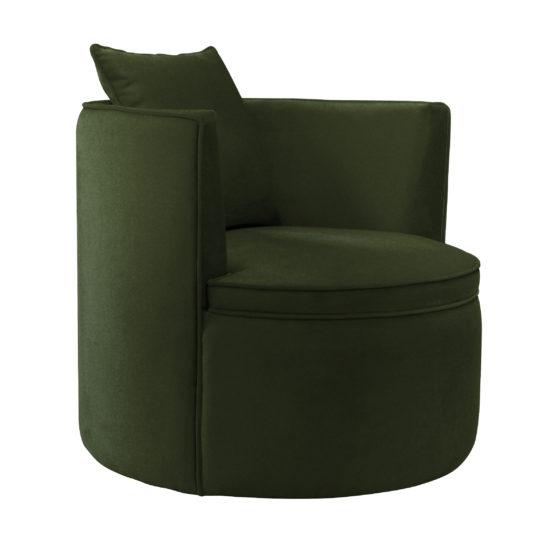 большое Круглое зеленое кресло frigerio фригерио