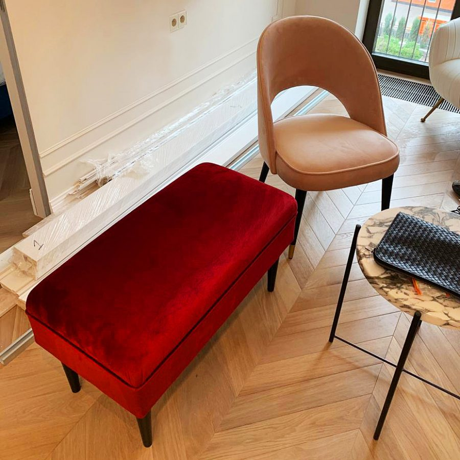 Дизайнерские банкетки и стулья