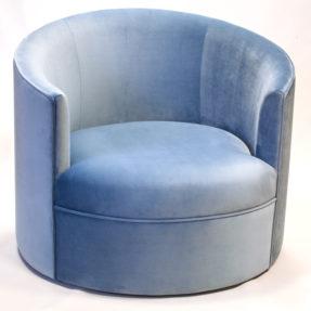Круглое лаунж кресло