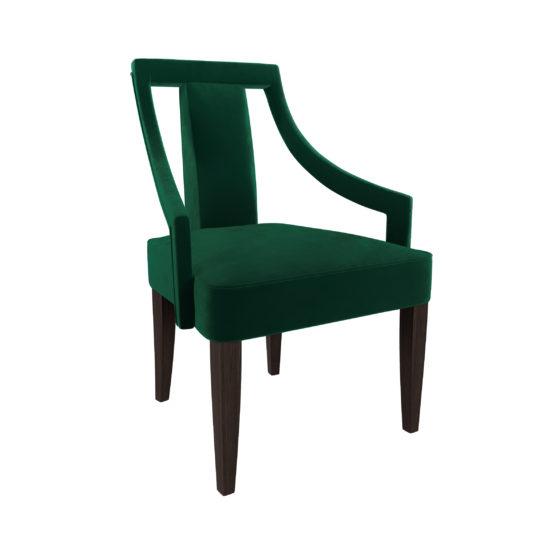 современный мягкий стул в столовую