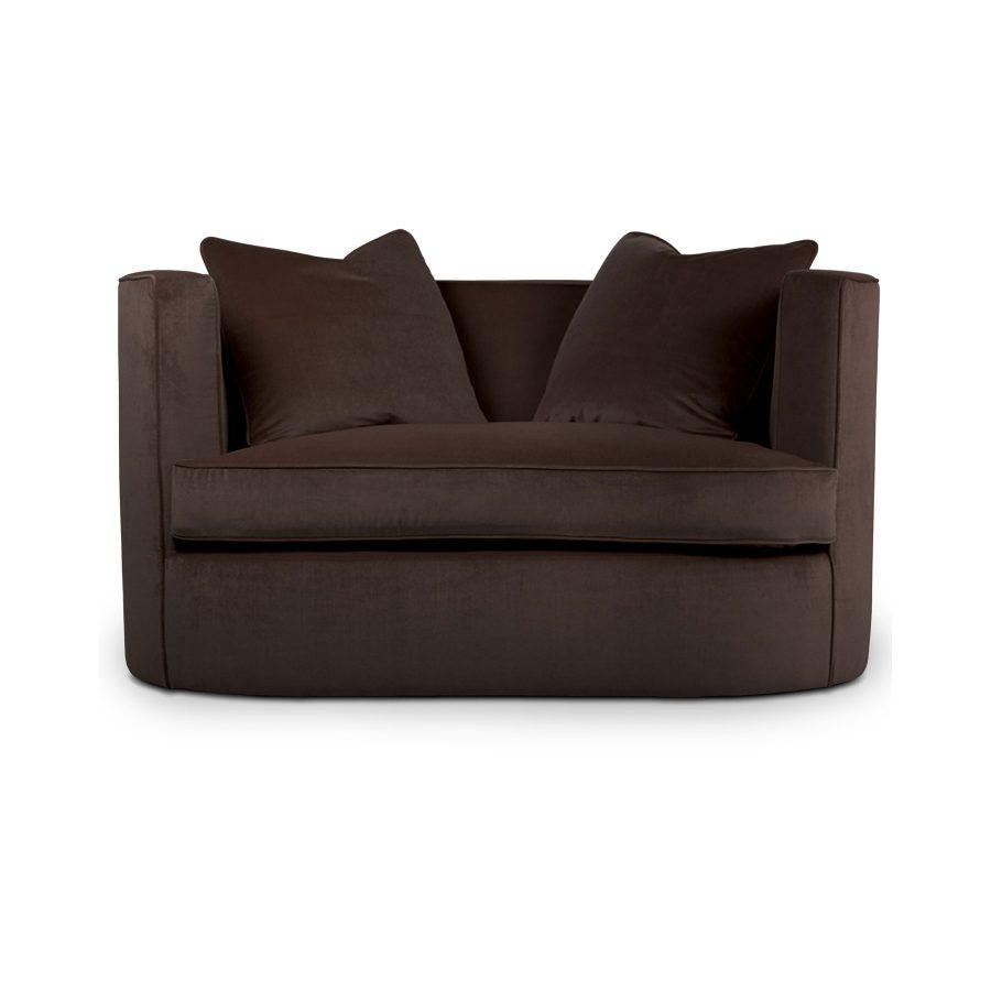полукруглый маленький диванчик двухместный