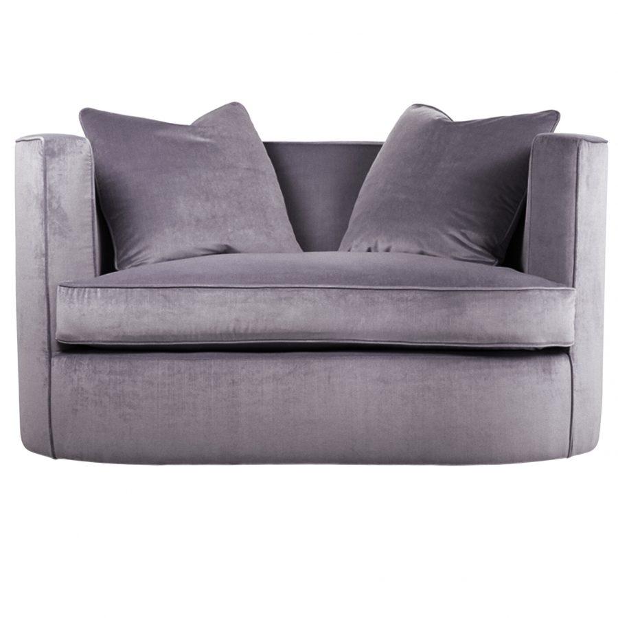 бархатный овальный диванчик двуместный