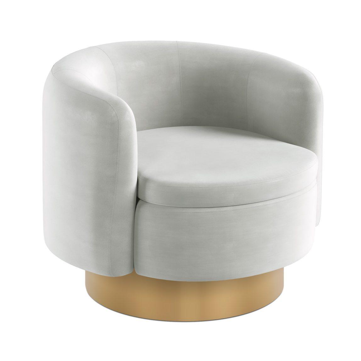 Дизайнерское круглое кресло