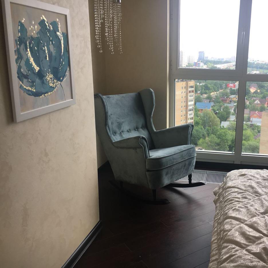 кресло-качалка Торн в интерьере