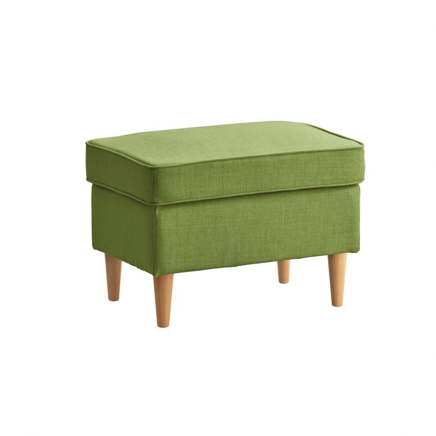 Зеленая банкетка для ног Торн