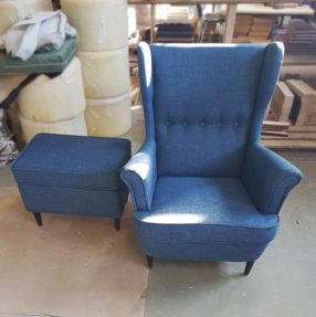 Синее кресло Торн