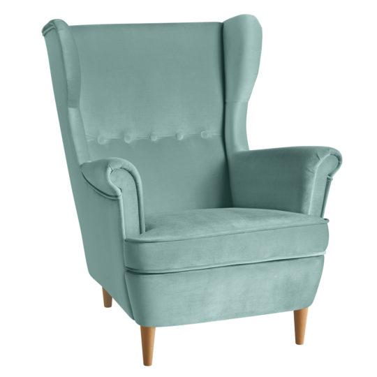 LAVSIT_Torn_strandmon_wing-chair_kreslo_velvet_chair_kreslo_mint_axon_v1