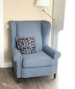 Кресло с высокой спинкой Роберт