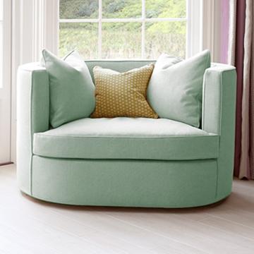 Реплика копия sofaandchair, зеленый диванчик лавсит двухместный
