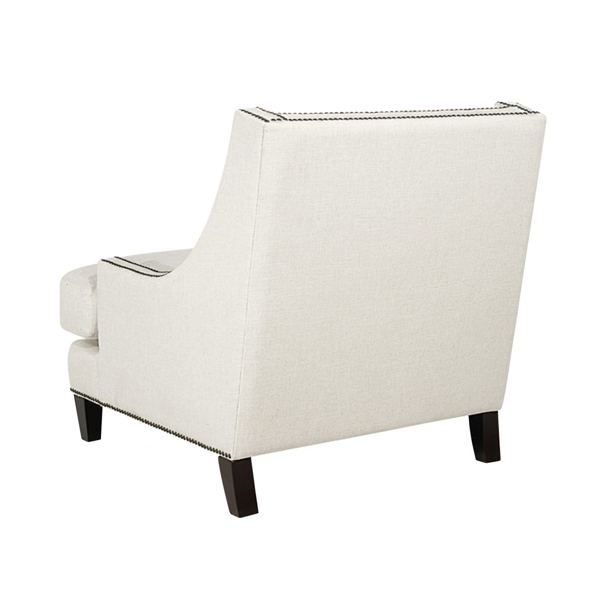 Каминное кресло белое