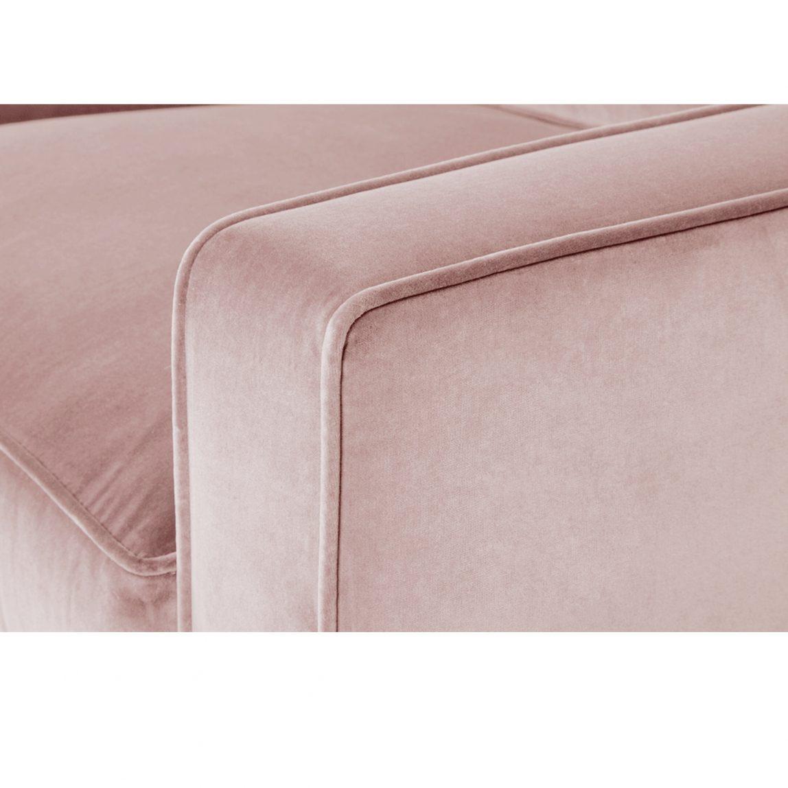 Американский розовый стильный модерн диван