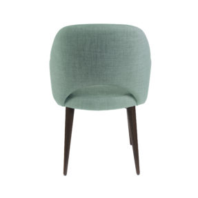 Современное полукресло обеденный зеленый мятный стул Martin Мартин Deephouse (дипхаус) рогожка
