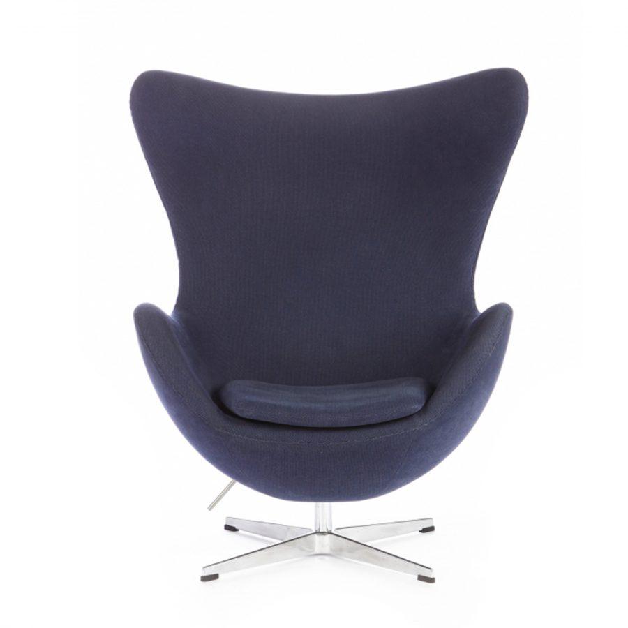 Egg armchair Арне кресло-яйцо синее