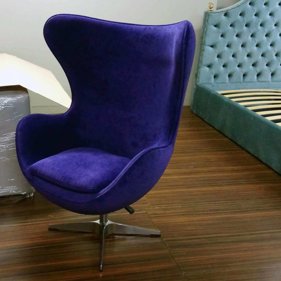 Egg armchair кресло яйцо