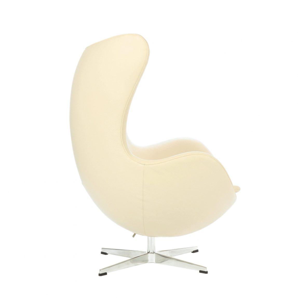 Кресло яйцо egg chair из кожи