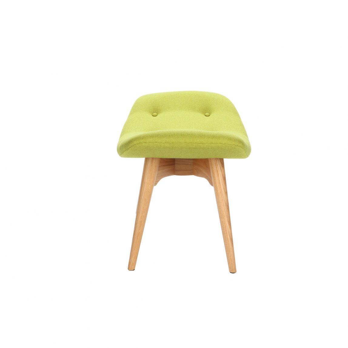Дизайнерская оттоманка Contour зеленая подставка для ног, интерьерное скандинавское Контур в гостиную, Грант Физерстоун