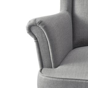 Высокое кресло для отдыха с подлокотниками