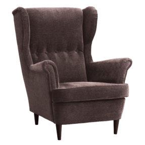 Высокое кресло с подлокотниками Страндмон икея ikea
