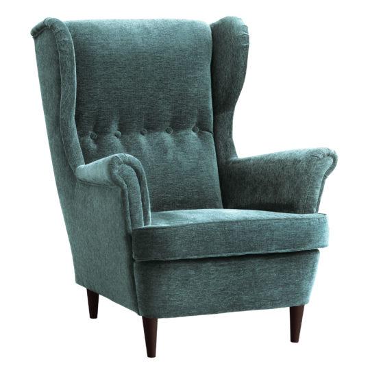 Скандинавское мягкое кресло Страндмон икея ikea