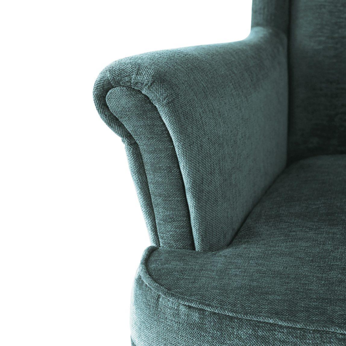 Кресло ikea Страндмон зеленое