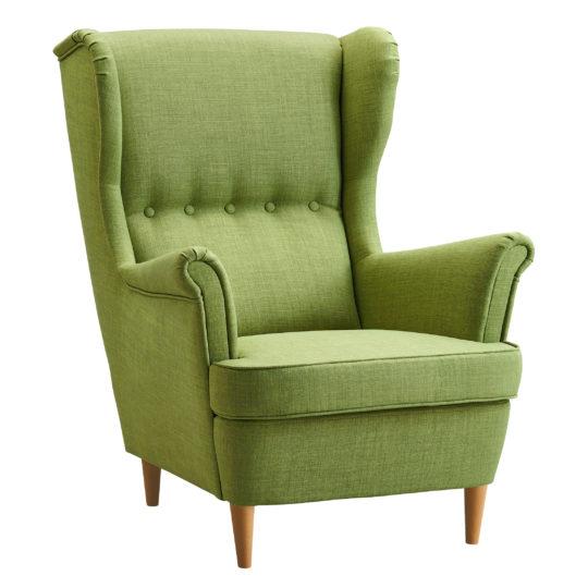 зеленое кресло икея